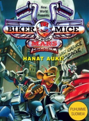 Мыши-рокеры с Марса / Biker Mice from Mars [S01-S03] (1993-1996) DVDRip & TVRip